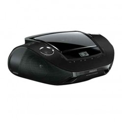Магнитола PHILIPS AZ1837/12, с CD/MP3-плеер., вых. мощн. 2 Вт, ЖК-дисп., USB, FM/MW тюнер, цвет чер.