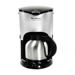 Кофеварка капельная MOULINEX CJ600530, объем 1 л, мощность 1150 Вт, подогрев, термос, сталь