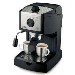 Кофеварка рожковая DELONGHI EC155, объем 1 л, мощность 1050 Вт, давление 15 бар, насадка взбивания