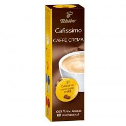 Капсулы для кофемашин TCHIBO Cafissimo Caffe Crema Mild, натуральный кофе, 10 шт. х 7 г