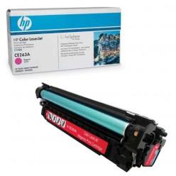 Картридж лазерный HP (CE263A) ColorLaserJet CP4025/4525, пурпурный, оригинальный, ресурс 11000 стр.